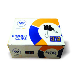 BINDER CLIPS 51MM – WORLDONE