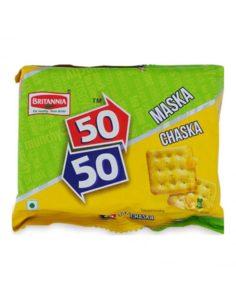 BRIT 50-50 MASKA CHASKA 120GMS