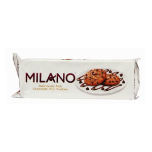 PARLE MILANO CHOCLATE CHIP COOKIES 150GRM