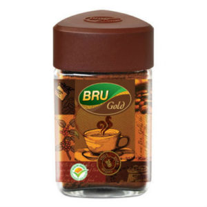 BRU GOLD COFFEE JAR 100 GMS