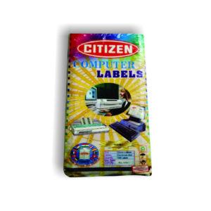 CITIZEN COMPUTER LABELS 102481