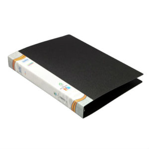 2D RING BINDER BLACK