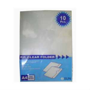 A4 SHEET PROTECTOR WITHOUT PUNCH