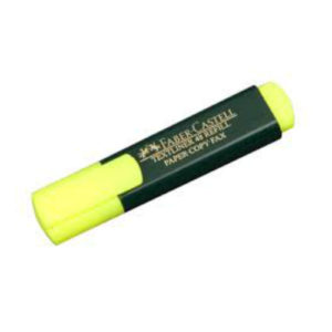 HIGHLIGHTER -FABER CASTELL YELLOW