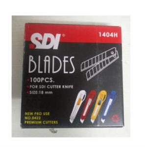 SDI CUTTER BLADES 18MM PK100
