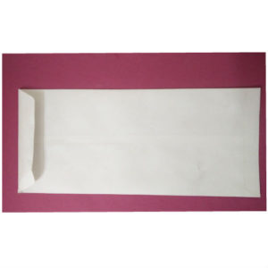 WHITE ENVELOPE 10x4.5