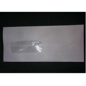 WHITE WINDOW ENVELOPE 10x4 (SR)