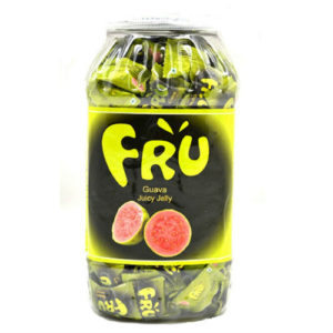 FRU JUICY JELLY GUAVA JAR 760 GRAMS