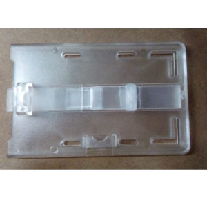 ID CARD HOLDER PC TRANSPARENT 2050