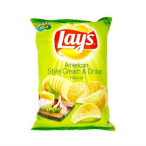 LAYS AM CRM & ON 25G MRP10