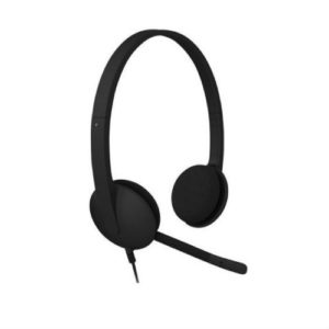 LOGITECH HEAD PHONE WITH MIKE H340