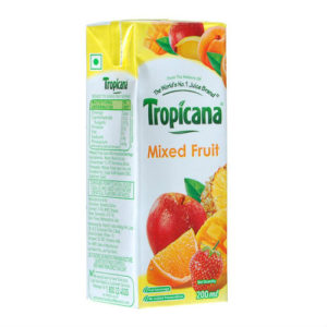 TROPICANA MIXED FRUIT JUICE 200ML