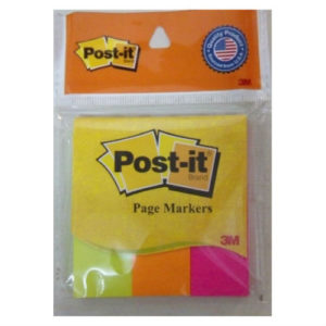 3M POST-IT 1x3x3 COLOURSx50 SHEETS EACH (PROMPTS)