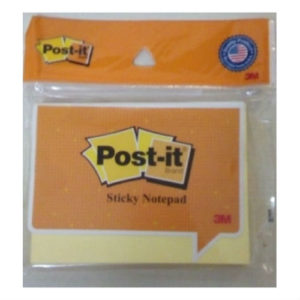 3M POST-IT 3x4 PAD YELLOW (100 SHEETS)
