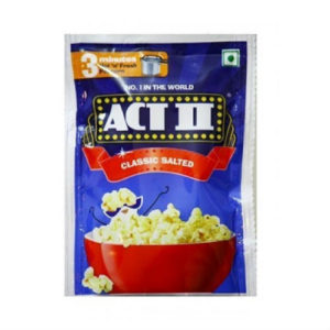 ACT II POPCORN CLASSIC SALTED 90 GMS