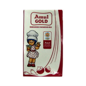 AMUL GOLD TETRA PACK MILK 1 LITRE