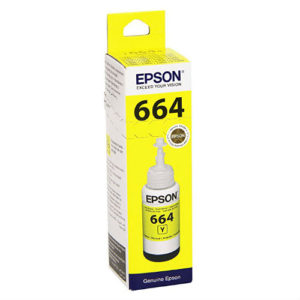 EPSON INK BOTTLE L100 YELLOW