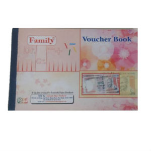 FAMILY VOUCHER PAD