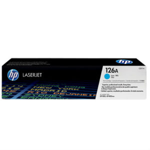 HP 126A CYAN ORIG. LASERJET TONER CARTRIDGE