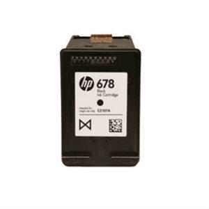 HP INK CARTRIDGE 678 BLACK CZ107AA