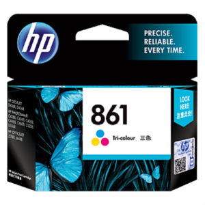 HP INK CARTRIDGE 861 COLOUR