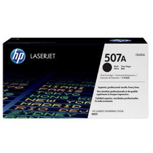 HP LASER TONER CARTRIDGE 400A BLK (507A)