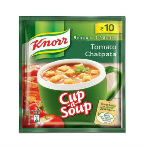 KNORR CUP A SOUP TOMATO CHATPATA MRP 10
