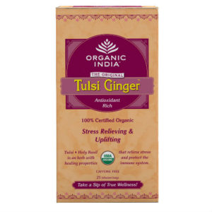 ORGANIC INDIA TULSI GINGER TEA BAGS PK 25