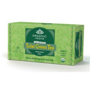 ORGANIC INDIA TULSI GREEN TEA BAGS PK 25