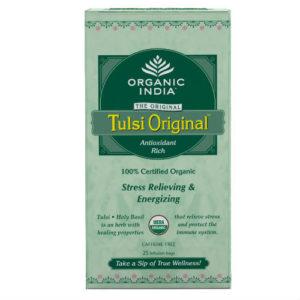 ORGANIC INDIA TULSI ORIGINAL TEA BAGS PK 25