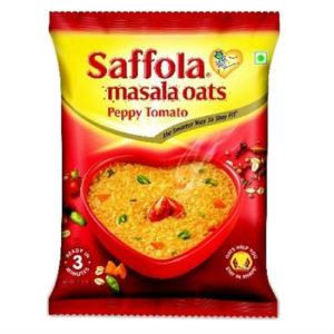 SAFFOLA MASALA OATS PEPPY TOMATO