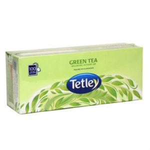 TATA TETLEY GREEN TEA BAGS PK 100