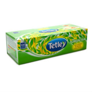 TATA TETLEY GREEN TEA WITH HONEY PK100