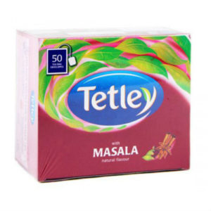 TATA TETLEY MASALA TEA BAG PK50