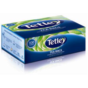 TATA TETLEY TEA BAGS 100