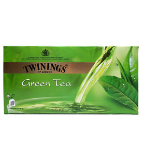 TWININGS GREEN TEA BAGS 100