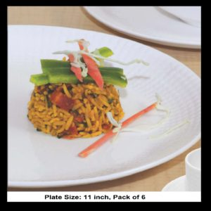 BONE CHINA VIVA PLATE 11 INCH