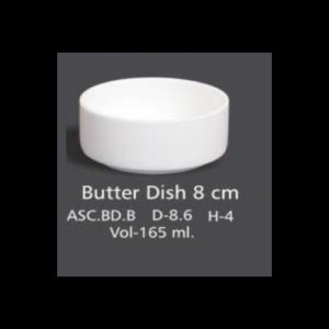 BUTTER DISH 8 CM