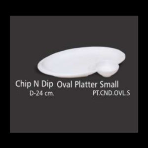 CHIP N DIP OVAL PLATTER SMALL