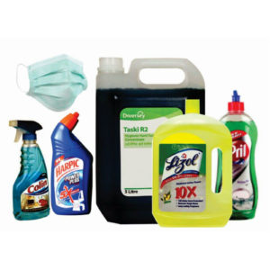 CLEANING & WASHROOM HYGIENE MATERIALS