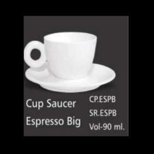 CUP SAUCER ESPRESSO BIG