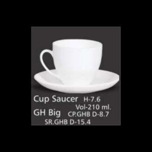 CUP SAUCER GH BIG