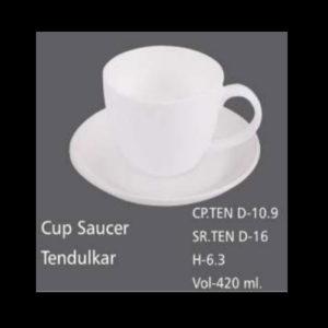 CUP SAUCER TENDULKAR