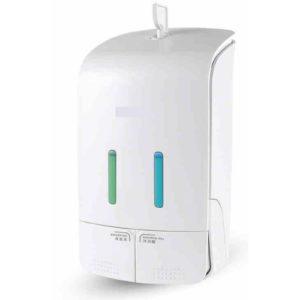 DUAL CONTAINER SOAP DISPENSER (500 ML-2) ES10D