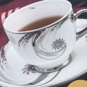 EBONY SERIES CUP SAUCER RIVER E641