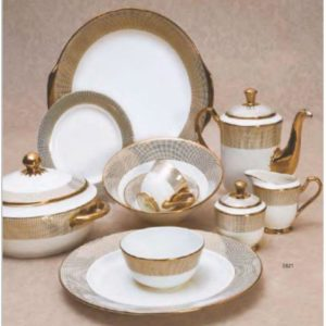 EBONY SERIES DINNER SET GEORGIAN E621