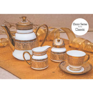 EBONY SERIES TEA SET CLASSIC