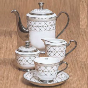 EBONY SERIES TEA SET GEORGIAN E685