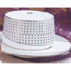 EBONY SERIES ZURI CUP SAUCER E616