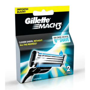 GILLETTE MACH 3 CARTS